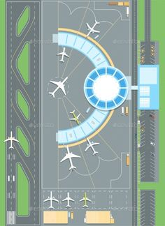 Floating Architecture, Lego Architecture, Lego Airport, Modele Lego, Minecraft City Buildings, Airplane Icon, Airplane Drawing, Airport Design, Landscape And Urbanism