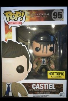 Funko Pop Supernatural Hot Topic Exclusive Leviathan Castiel SHIPS TODAY!!