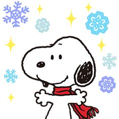 Snoopy and snow, the perfect combination! Enter the wonderful winter world of Snoopy with this pop-up sticker set. Bring this fun full screen beagle to your chats today!