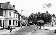 Photo of Harborne, Princes Corner from Francis Frith Birmingham City Centre, Birmingham England, Old Photos, 1960s, Prince, Corner, Street View, Memories, History