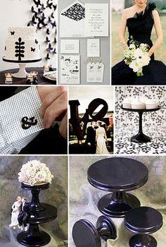 Black & White Weddings
