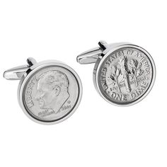 "Thanks for the kind words! ★★★★★ ""Perfect 10 year anniversary present! Quality is outstanding!"" inchik21 https://etsy.me/2HQrEdv #etsy #accessories #cufflinks #men #tingift #tinyearanniversary #2008coincufflinks #2008cufflinks #2008weddinggift #200810gift"