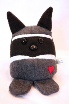 Raccoon  Stuffed Animal  Grey by cmhdesign on Etsy, $18.00