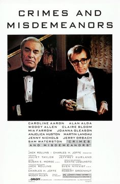 """Delitos y faltas"" (""Crimes and Misdemeanors""), de Woody Allen (Estados Unidos, 1989)"