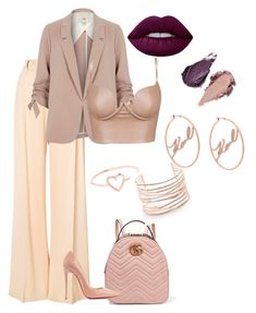 """""""Untitled #53"""" by styledbynik ❤ liked on Polyvore featuring Ryan Roche, Rituel de Fille, River Island, Gucci, Christian Louboutin, Love Is, Alexis Bittar and Karl Lagerfeld"""