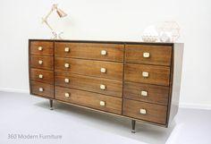 Mid Century Sideboard Drawers Dresser Alrob Retro Vintage Danish Scandi era in Home & Garden, Furniture, Sideboards, Buffets & Trolleys | eBay 360 MODERN FURNITURE