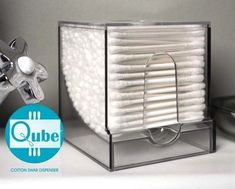 50 Genius Storage Ideas (all very cheap and easy!) Great for organizing and small houses. Qube dispenser- buy on amazon