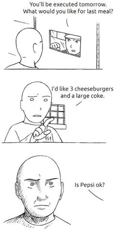 I shouldn't have laughed as hard as I did, but this is how I feel about Sprite vs. freaking Sierra Mist!