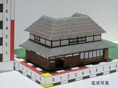 Kudodukuri House Free Building Paper Model Download