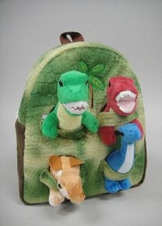 Dinosaur House Backpack $29.99  Description Dino Backpack 11″ Includes four 8″ removable Assorted Dinosaurs