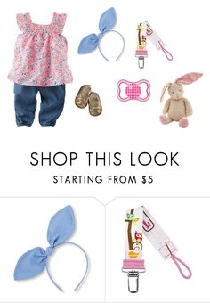 """""""Sin título #3045"""" by alejaborrayo on Polyvore featuring Baby, girl, fourth y months"""