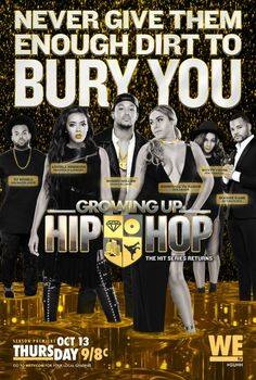 Click to View Extra Large Poster Image for Growing Up Hip Hop