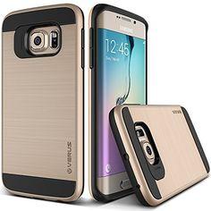Verus [Air Space Cushion] Samsung Galaxy S6 Edge Case [Verge][Shine Gold]  #Verus #Case #Accessories #SamsungGalaxyS6Edge #GalaxyS6Edge