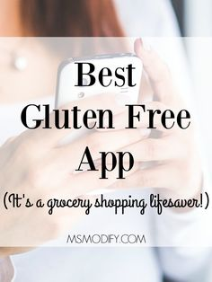 So we already talked about what a pain it is to figure out which products contain gluten and how grocery shopping has officially become an ordeal! Yeah, that's right you can now shop without it taking hours… Best Gluten Free App Gluten Free Shopping List, Gluten Free Food List, Cookies Gluten Free, What Is Gluten Free, Best Gluten Free Recipes, Tofu Recipes, Gluten Free Products, Dairy List, Gluten Free Diet Plan