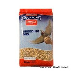 Bucktons Pigeon Breeding Mix Pigeon Food 20kg Bucktons Pigeon Breeding Mix is made using only the very best ingredients sourced from reputable growers, are incorporated within Bucktons products.