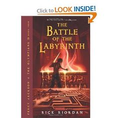 Percy Jackson and the Olympians, Book Four: The Battle of the Labyrinth by Rick Riordan
