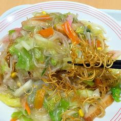 #tokushima #japon - 14件のもぐもぐ - 野菜たっぷり皿うどん by maixx0419
