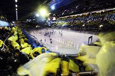 Kinnarps Arena, an ice hockey venue for Ice Hockey, Images, Around The Worlds, Culture, Sports, Sands, Hs Sports, Sport, Hockey Puck