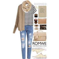 Romwe 6 by scarlett-morwenna on Polyvore featuring Converse, Yves Saint Laurent, Witchery, Rebecca Minkoff, Echo, Laura Mercier, Fashion Fair, NARS Cosmetics and Carol's Daughter