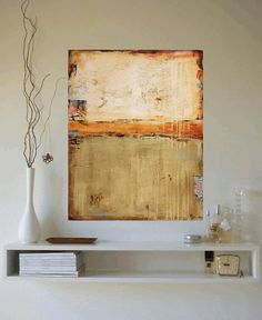 """40"""" xxl large PAINTING mixed media abstract painting painting wall art from jolina anthony fast and free shipping"""