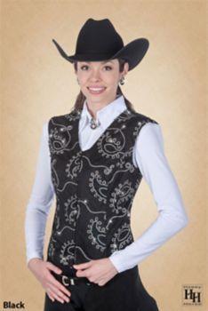 Hobby Horse Ladies Lariat Vest S Purple: HOBBY HORSE CLOTHING CO. INC. #Horse #Horses #Pets #Equestrian #Rider