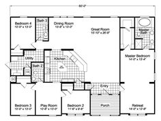 41 x 60 Modular Home w/ Luxury Interior (HQ Plans & Pictures)   Metal Building Homes