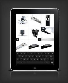 Targetti iPad app