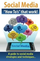 Social Media How Tos that work! This is my first book on sale now for $21 and it is in full color with images that help walk you through the easy steps I suggest to create an impressive social media presence at little to no cost to you! Learn more at http://authorjohnnybryangiles.wordpress.com and thank you for making the purchase! Your will love my book!