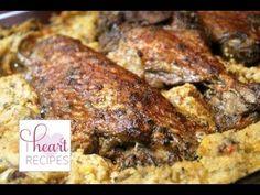 ▶ Baked Turkey Wings Recipe   I Heart Recipes - YouTube