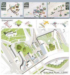 Urban Design Works by HSIU I LEE, via Behance