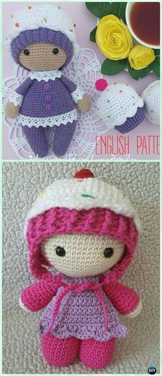 01. Crochet Doll Carrier Little girl's and boy's will love playing Mum's and Dad's with this hand made baby basket. A great birthday gift as it will grow with the child as games go from simply playing with dolls to make believe story lines where children act out plays and movies. Image and Free Pattern: Paapoputiikki Blogspot 02. Amigurumi Crochet Molly Doll Image and Free Pattern: Amigurumi Today 03. Amigurumi Crochet Baby Doll Image and Free Pattern: Amigurumi Today 04. Amigurumi Crochet…