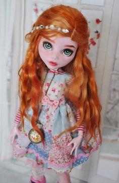 ООАК Monster High страшно огромная Дракулаура / ООАК игровых кукол / Шопик. Продать купить куклу / Бэйбики. Куклы фото. Одежда для кукол