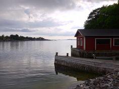 Brännskär - idyll in the Turku archipelago Finnish archipelago Archipelago, Dolphins, Finland, Sailing, Cabin, Sea, House Styles, Places, Home Decor