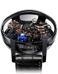 <p>The Astronomia Tourbillon is a truly unique, groundbreaking timepiece that elevates the art of watchmaking above the Earth, above time. Combining the highest level of Swiss timepiece craftsmanship and the horological decorative arts to create a watch that is a poetic visual rendering of the celestial world with every element in constant, visible motion, all under the control of the oscillator at the heart of the three-axis tourbillon with an orbital display of the hours and minutes.&...