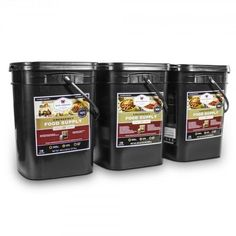 Shop for Wise Company 360 Servings Emergency Survival Food Storage - Black - 360 Servings. Get free delivery On EVERYTHING* Overstock - Your Online Food Storage Store! Emergency Food Kits, Emergency Food Storage, Survival Food, Emergency Preparation, Survival Tips, Camping Survival, Wise Food Storage, Long Term Food Storage, Cinnamon Cereal