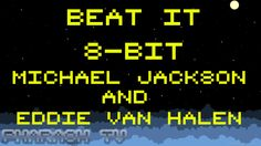 Beat It 8 Bit Michael Jackson and Eddie Van Halen with Double Dribble NE...