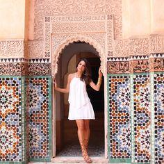 Camila Coelho em Marrocos para Riachuelo