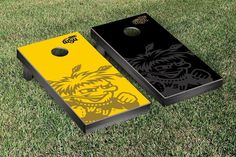 Wichita State Shockers Watermark Logo Cornhole Board Set