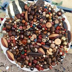 A personal favorite from my Etsy shop https://www.etsy.com/listing/269405304/huge-1-pound-9-oz-destash-bead-mix