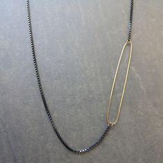 Long Crush Necklace by Alice Roche