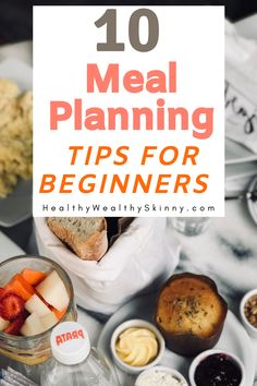 If you are just starting out, meal planning might seem overly complicated. Learn 10 meal planning tips for beginners that will make meal planning a breeze. Frugal Meals, Breeze, Meal Planning, Organize, Good Food, Food And Drink, Skinny, Drinks, Healthy