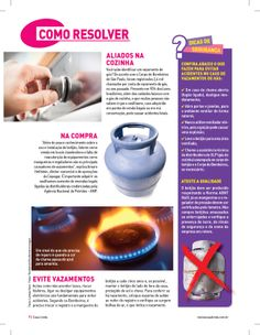 Título: Aliados na cozinha. Veículo: revista Casa Linda. Data: janeiro de 2014. Cliente: Copagaz.