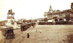 1900's Bs. As., Plaza Italia, fines del siglo XIX principios del XX