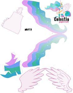 princess celestia papercraft | PaperCraft Celestia Part 3 by oskarek11