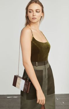 Polish off your look with gorgeous designer handbags. Shop the latest purses in hot new styles at BCBG. Designer Clutch, Designer Handbags, Diy Projects To Try, Box, Style, Fashion, Designer Bags, Moda, Designer Purses