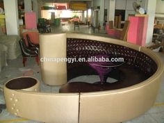 Image result for semi circle couch Circular Couch, Kitchen Appliances, Image, Furniture, Home, Diy Kitchen Appliances, Home Appliances, Ad Home, Home Furnishings