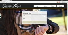Página de Login HTML5   Gabriele Kemper - Loja Virtual