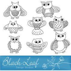 cute stamps - Blackleaf Studios