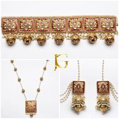 || THE MEDIHAH COLLECTION || As seen in our Fursat Campaign.  Luxurious kundan collection, fully gold plated with hand painted meena and fresh water pearl embellishment.  Truly an amazing collection !! To order please email us on INFO@JEWELNGEM.COM