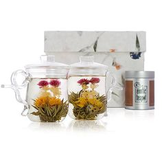 lovers blooming tea set by the exotic teapot | notonthehighstreet.com